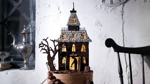 Halloween Castle Cake by Haunted House Cake