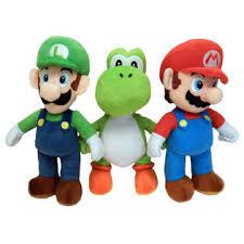 goldie super mario plush 3 pack mario luigi yoshi toys u0026 games
