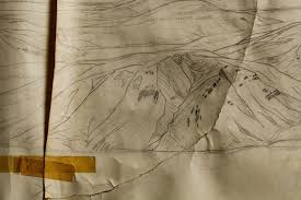 Map Grant Jackson Hole Physiographic Map Grant