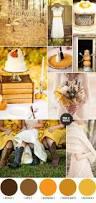 autumn wedding color palette brown orange wedding colors