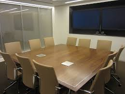 Square Boardroom Table Wallgoldfinger Square Conference Tables