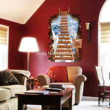 Wall Mural Childrens Bedroom Stair To The Sky 3d Wall Stickers Mural Children S Bedroom