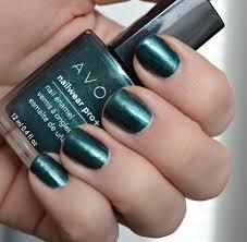 review u0026 swatchfest avon nailwear pro nail enamel in noir
