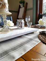 ikea table runners tablecloths under 10 farmhouse table runner with ikea tea towels