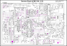 tv circuit diagram wiring diagram components
