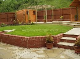 Sloping Garden Ideas Photos Sloping Gardens Dewin Designs Garden Design Cardiff Penarth