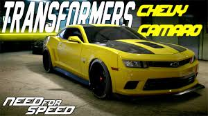 customize a camaro need for speed 2015 transformers chevrolet camaro z28