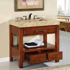 Cherry Bathroom Vanity Cabinets White Bathroom Decoration Using Small White Narrow Bathroom Vanity