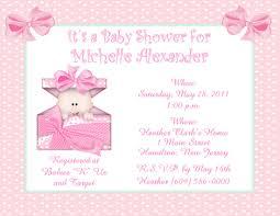 baby shower invites for girl baby shower invitation ideas girl omega center org ideas for baby