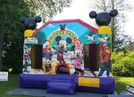 mickey mouse clubhouse bounce house bounce house rentals bristol ct disney s mickey mouse bounce