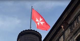 Military Flag Order Sovereign Order Of Malta Canadian Asscoation