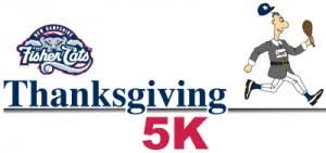 results fisher cats thanksgiving day 5k 2014