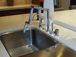 kohler karbon kitchen faucet faucet detour green building concepts