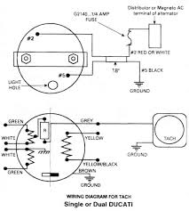 ducati tachometer ducati ignitionwiring diagram for rotax 447
