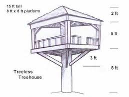 Best  Simple Tree House Ideas On Pinterest Diy Tree House - Backyard fort designs