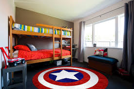 Avengers Rug Captain America Super Hero Children U0027s Round Rug