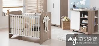 chambre de bébé chambre de bébé déco lit commode quand la préparer