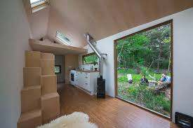 Tiny Home Design Tips by Tiny House On Wheels Goes Big On Windows Curbed