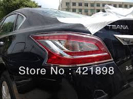 nissan altima tail light cover for nissan altima 2013 2014 2015 abs chrome tail light l cover