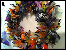 diy halloween wreaths home design ideas