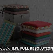 Patio Chair Cushions Kmart by Patio Chair Cushions With Ties Patio Outdoor Decoration