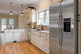 oak kitchen cabinets pictures polished wooden parquet floor cherry