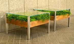Unique Glass Coffee Tables - unusual glass top coffee table design in eco style