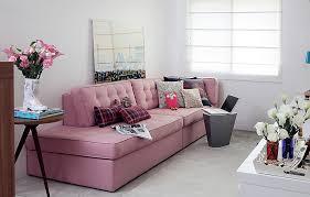 sofa rosa rosa no sofá design decor blogs at