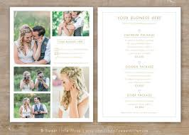 wedding photographers prices wedding photography price list template wedding sell sheet