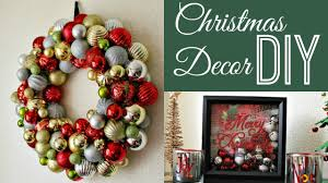 Christmas Decorations 2017 Diy Christmas Decorations Collab Dazzledust08 Youtube