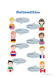 1 free esl nationalities american english chinese china worksheets