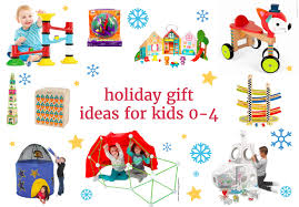 holiday gift ideas for kids 0 4 yoyomama