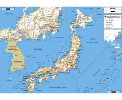 East China Sea Map by Maps Of Japan Detailed Map Of Japan In English Tourist Map