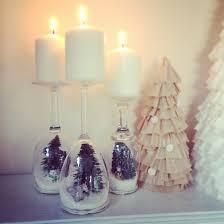 wine glass snow globes 10 adorable diy christmas snow globe ideas