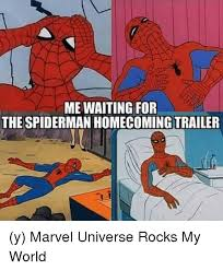 Funny Spider Man Memes - 25 best memes about spiderman homecoming trailer spiderman
