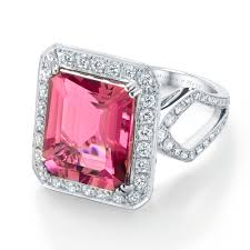 pink star diamond raw unusual and alternative engagement rings
