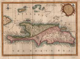 Map Dominican Republic Map Of The Island Of Hispaniola Modern Day Haiti U0026 Dominican