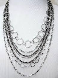 make chain necklace images Funky jewelry ideas how to make a necklace out of multi sized jpg