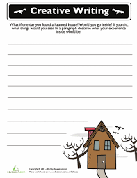 creative writing worksheets 7th grade