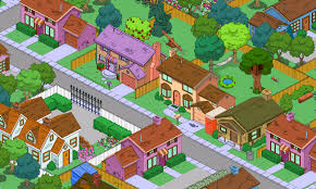 springfield map recreating an accurate springfield in the simpsons tapped out