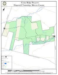 Stony Brook Map Cedar Ridge Preserve New Jersey Trails Association