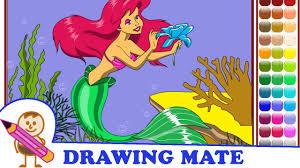 little mermaid coloring pages colouring sheets kolorowanki
