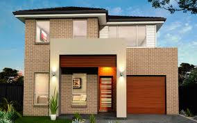 New Home Builders Edgecliff  Double Storey Home Designs - New brick home designs