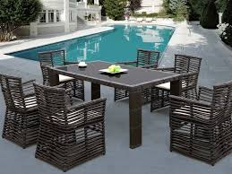 sunset west venice 7 piece dining set wicker com