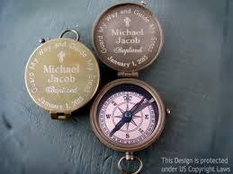 confirmation gifts for boys guard my way and guide my steps engraved compass 견진성사