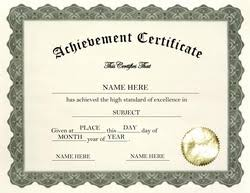 Free Certificate Of Excellence Template Awards Certificates Free Templates Clip Wording Geographics