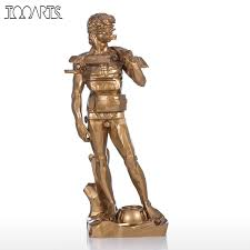 sculpture home decor aliexpress com buy tooarts tomfeel david with drawer resin
