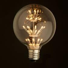 240 Volt Led Light Bulbs by E27 Led Edison Fireworks Light Bulb 110v 220v Edison Squirrel