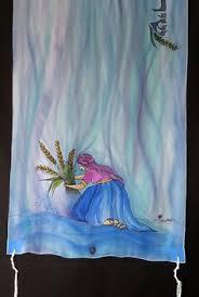 prayer shawls from israel embroidered lace tallit prayer shawl tallis