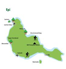 Vanuatu Map Informations About Island Of Vanuatu